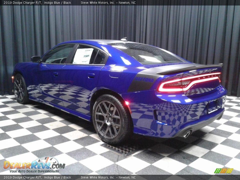 2019 Dodge Charger R/T Indigo Blue / Black Photo #8