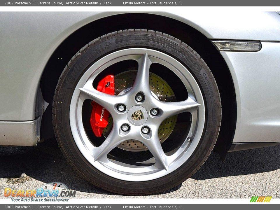 2002 Porsche 911 Carrera Coupe Wheel Photo #23