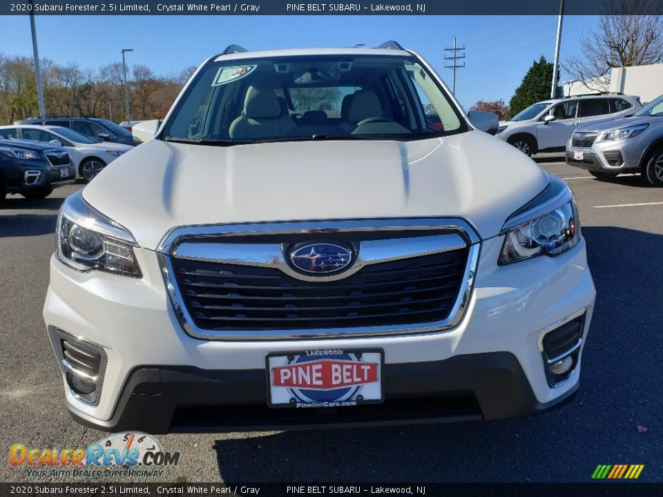 2020 Subaru Forester 2.5i Limited Crystal White Pearl / Gray Photo #2