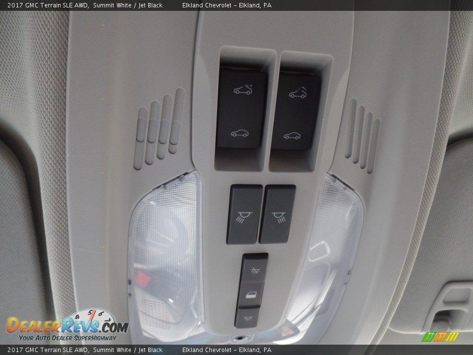 2017 GMC Terrain SLE AWD Summit White / Jet Black Photo #33