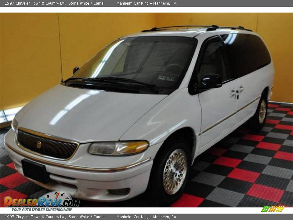 1997 chrysler town country lxi stone white camel photo for Stone s town country motors