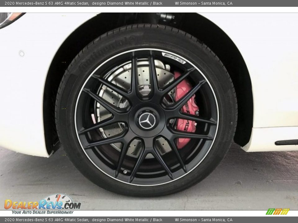 2020 Mercedes-Benz S 63 AMG 4Matic Sedan Wheel Photo #8