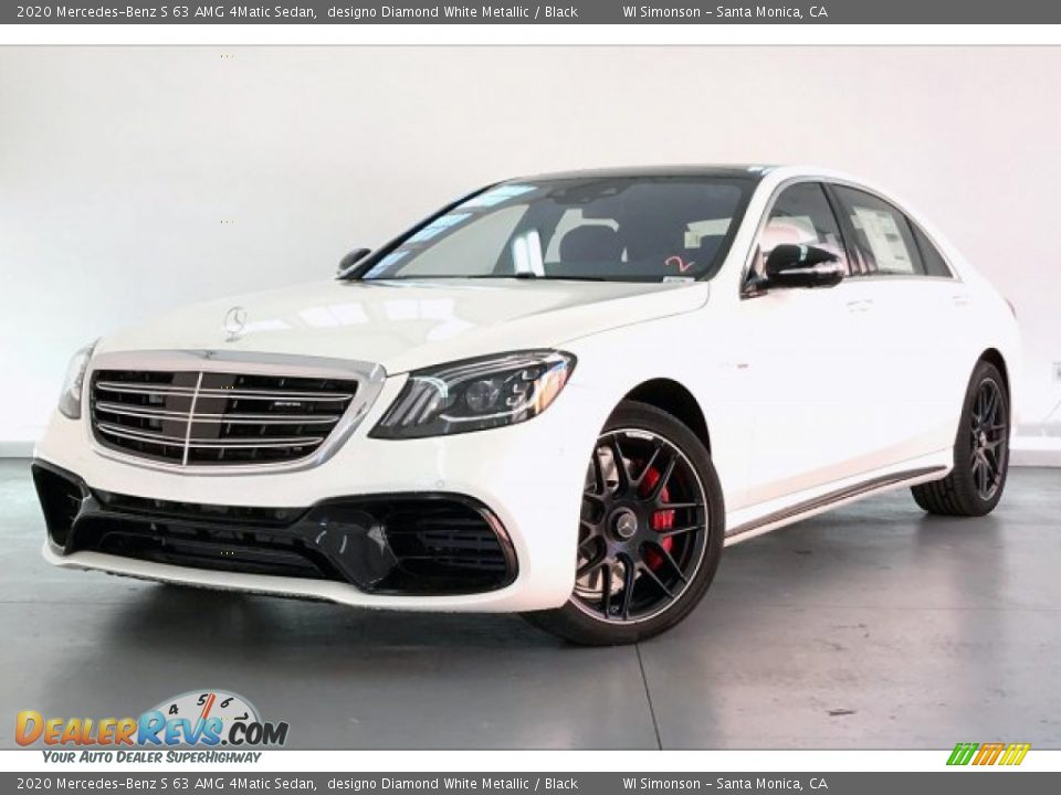 Front 3/4 View of 2020 Mercedes-Benz S 63 AMG 4Matic Sedan Photo #12