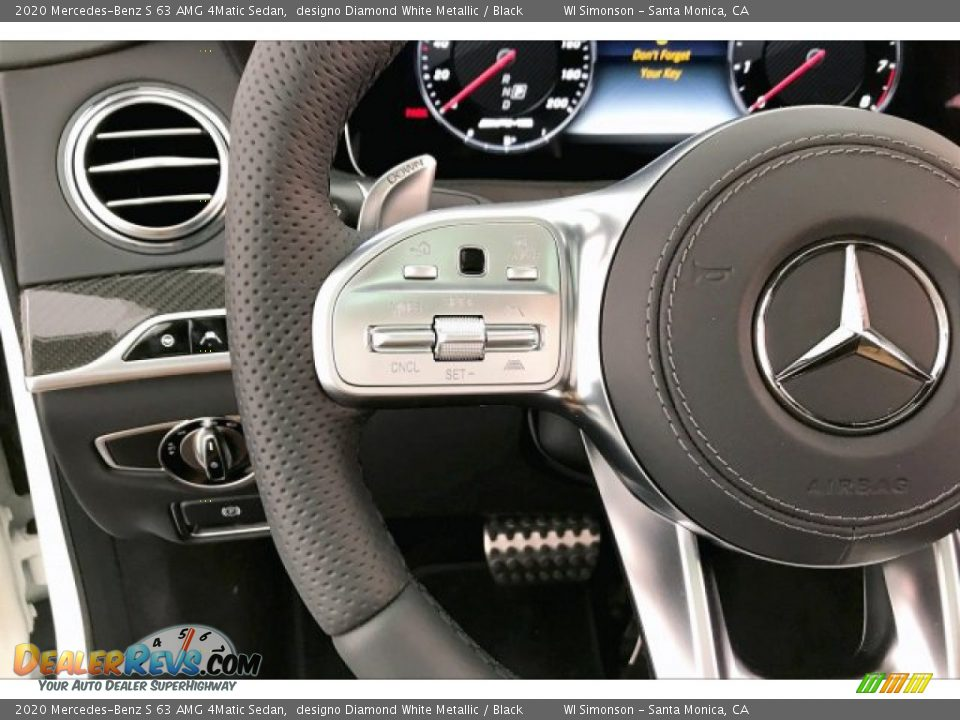 2020 Mercedes-Benz S 63 AMG 4Matic Sedan Steering Wheel Photo #18
