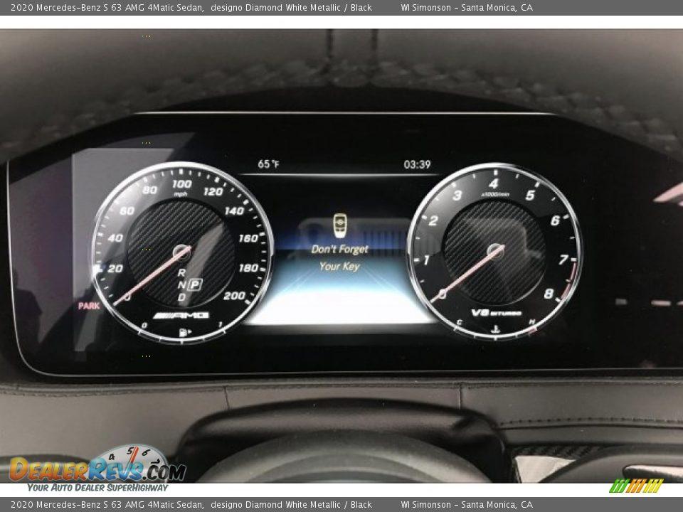 2020 Mercedes-Benz S 63 AMG 4Matic Sedan Gauges Photo #20