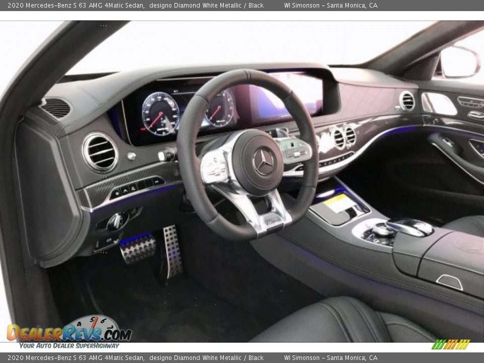Dashboard of 2020 Mercedes-Benz S 63 AMG 4Matic Sedan Photo #22