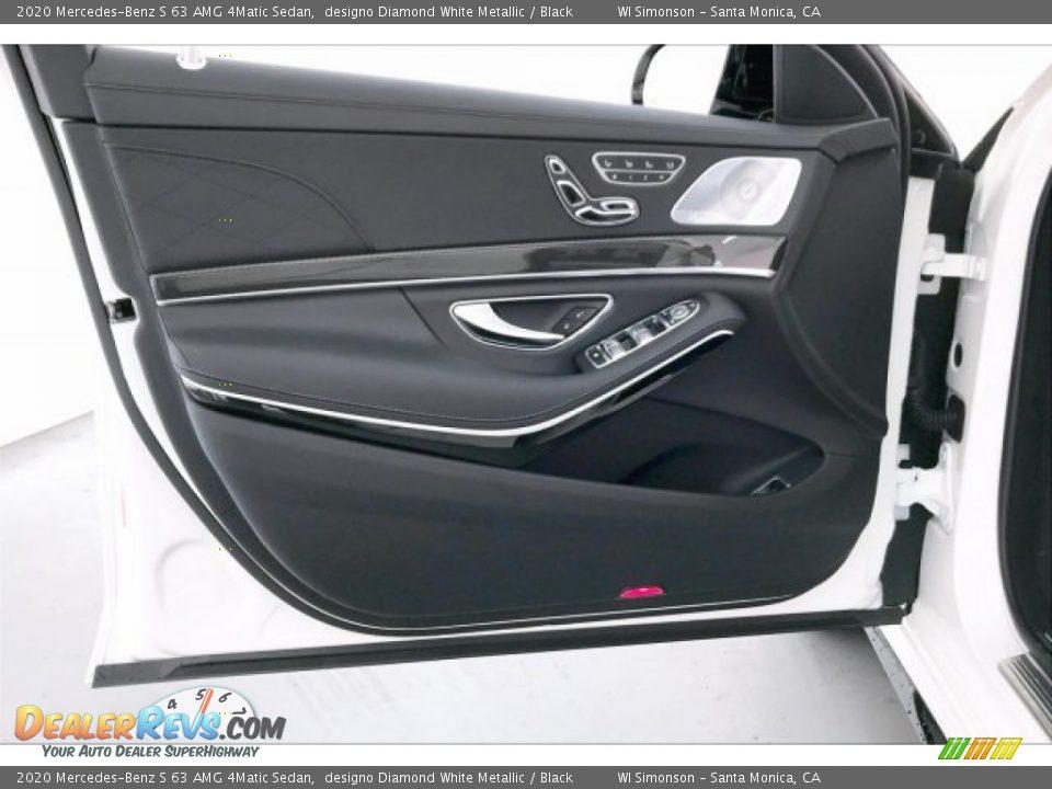 Door Panel of 2020 Mercedes-Benz S 63 AMG 4Matic Sedan Photo #25