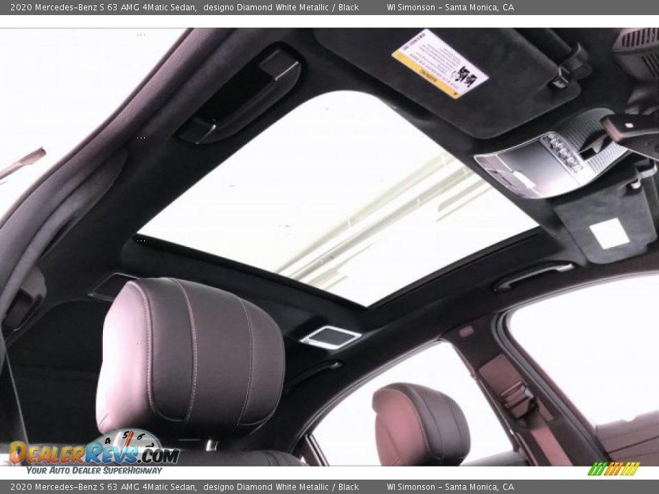 Sunroof of 2020 Mercedes-Benz S 63 AMG 4Matic Sedan Photo #29