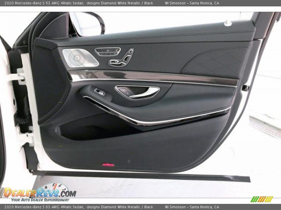 Door Panel of 2020 Mercedes-Benz S 63 AMG 4Matic Sedan Photo #30