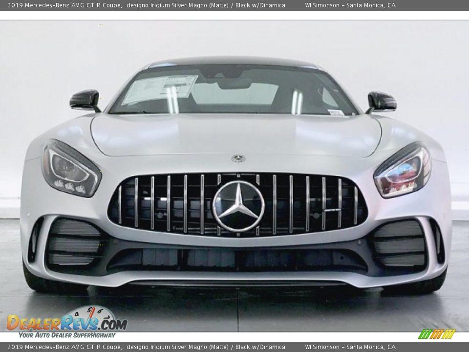 2019 Mercedes-Benz AMG GT R Coupe designo Iridium Silver Magno (Matte) / Black w/Dinamica Photo #2