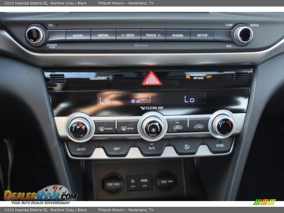 2020 Hyundai Elantra SE Machine Gray / Black Photo #14