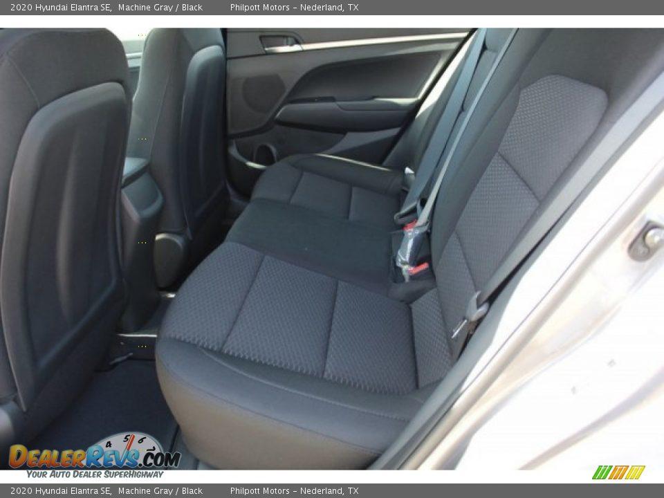 2020 Hyundai Elantra SE Machine Gray / Black Photo #16