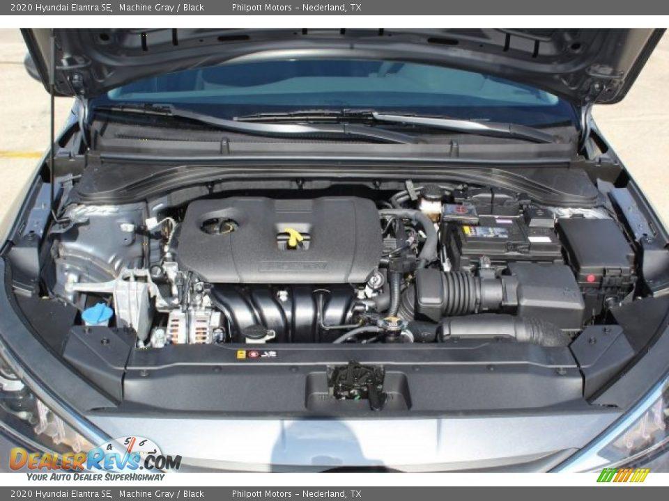2020 Hyundai Elantra SE Machine Gray / Black Photo #20