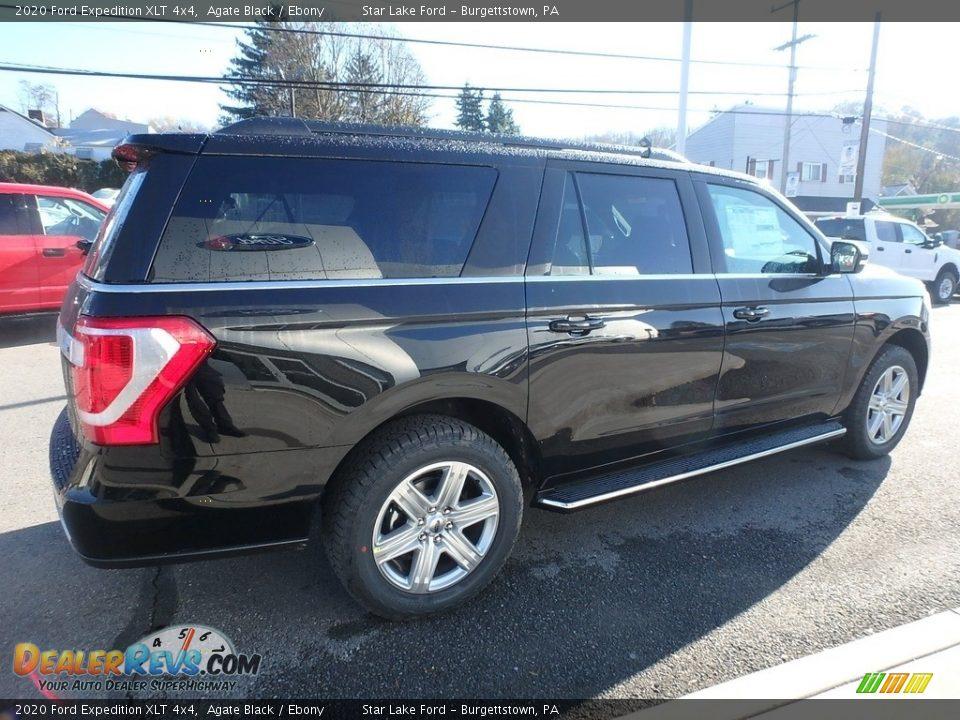 2020 Ford Expedition XLT 4x4 Agate Black / Ebony Photo #5