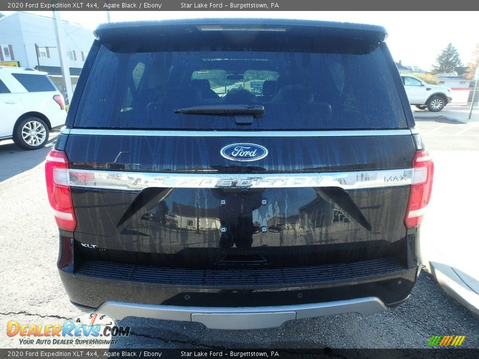 2020 Ford Expedition XLT 4x4 Agate Black / Ebony Photo #6