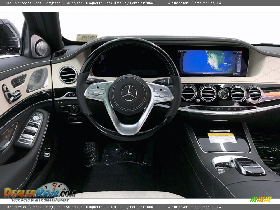 Dashboard of 2020 Mercedes-Benz S Maybach S560 4Matic Photo #4