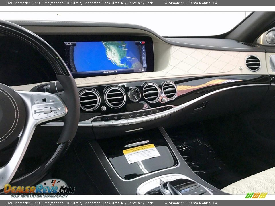 Dashboard of 2020 Mercedes-Benz S Maybach S560 4Matic Photo #5