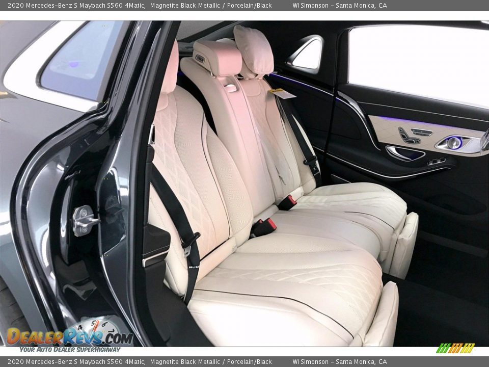 Rear Seat of 2020 Mercedes-Benz S Maybach S560 4Matic Photo #13