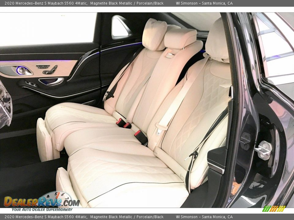 Rear Seat of 2020 Mercedes-Benz S Maybach S560 4Matic Photo #15