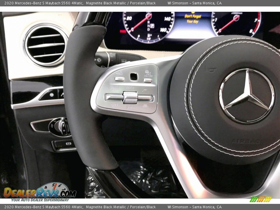 2020 Mercedes-Benz S Maybach S560 4Matic Steering Wheel Photo #18