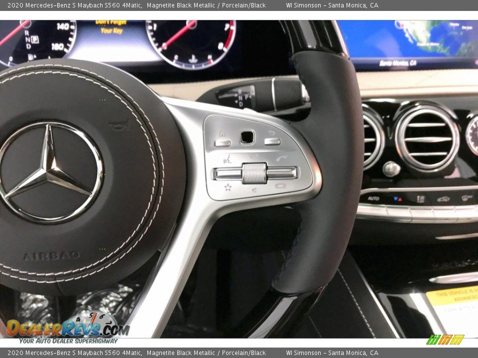 2020 Mercedes-Benz S Maybach S560 4Matic Steering Wheel Photo #19