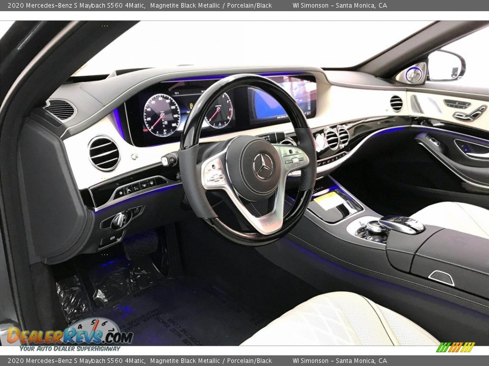 Front Seat of 2020 Mercedes-Benz S Maybach S560 4Matic Photo #22