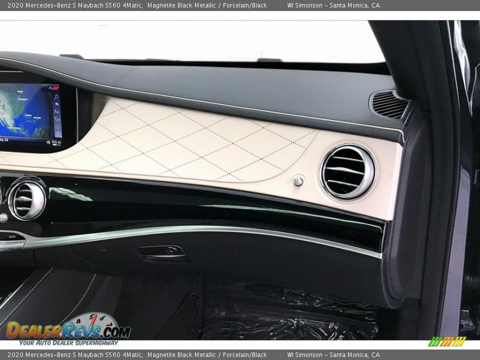 Dashboard of 2020 Mercedes-Benz S Maybach S560 4Matic Photo #28