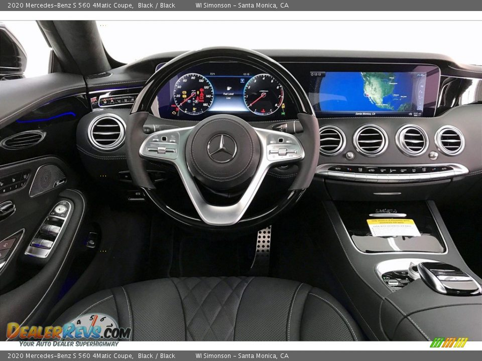 Dashboard of 2020 Mercedes-Benz S 560 4Matic Coupe Photo #4