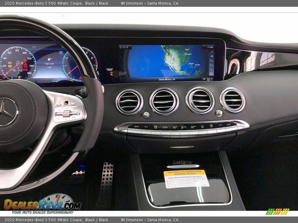 Controls of 2020 Mercedes-Benz S 560 4Matic Coupe Photo #5