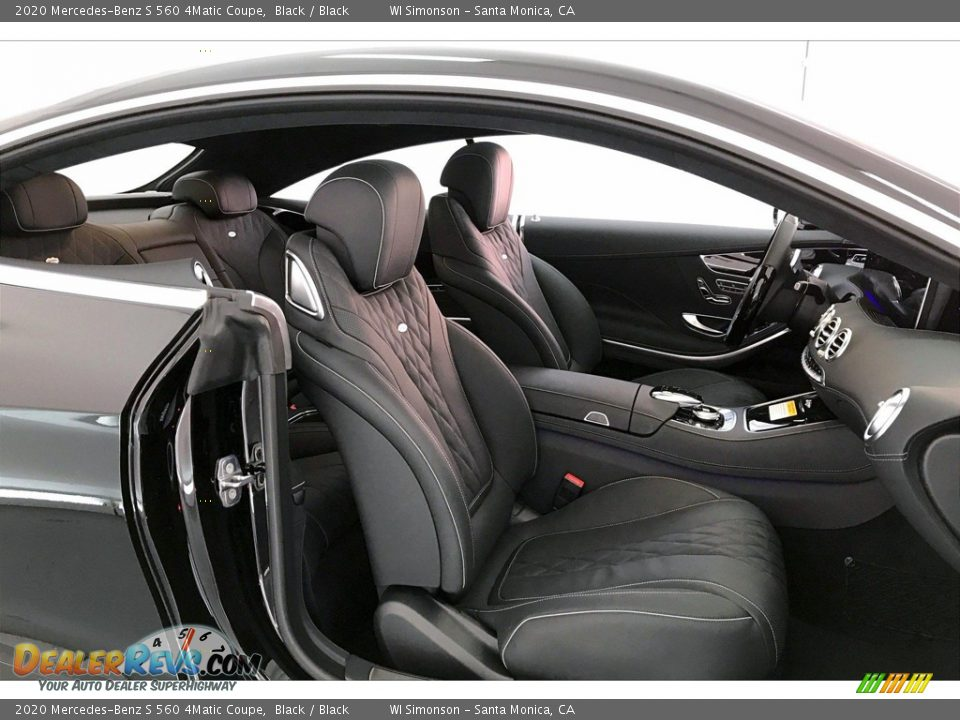 Front Seat of 2020 Mercedes-Benz S 560 4Matic Coupe Photo #6