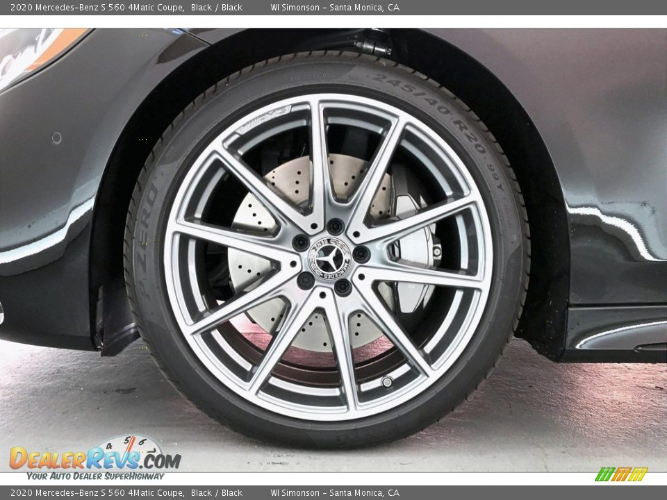 2020 Mercedes-Benz S 560 4Matic Coupe Wheel Photo #8
