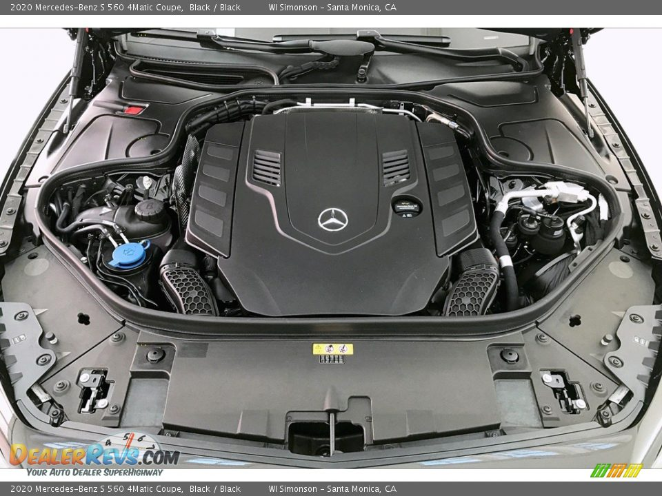 2020 Mercedes-Benz S 560 4Matic Coupe 4.0 Liter DI biturbo DOHC 32-Valve VVT V8 Engine Photo #9