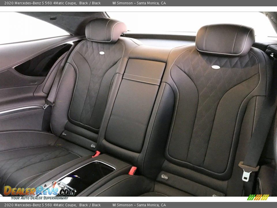 Rear Seat of 2020 Mercedes-Benz S 560 4Matic Coupe Photo #15