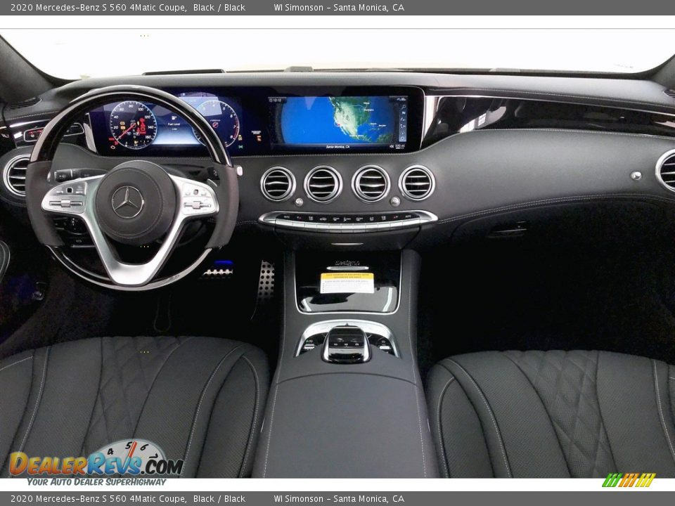 2020 Mercedes-Benz S 560 4Matic Coupe Black / Black Photo #17