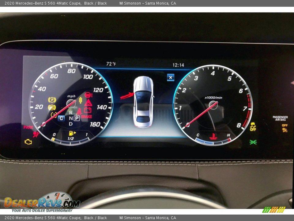 2020 Mercedes-Benz S 560 4Matic Coupe Gauges Photo #20