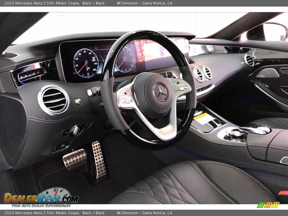 2020 Mercedes-Benz S 560 4Matic Coupe Black / Black Photo #22