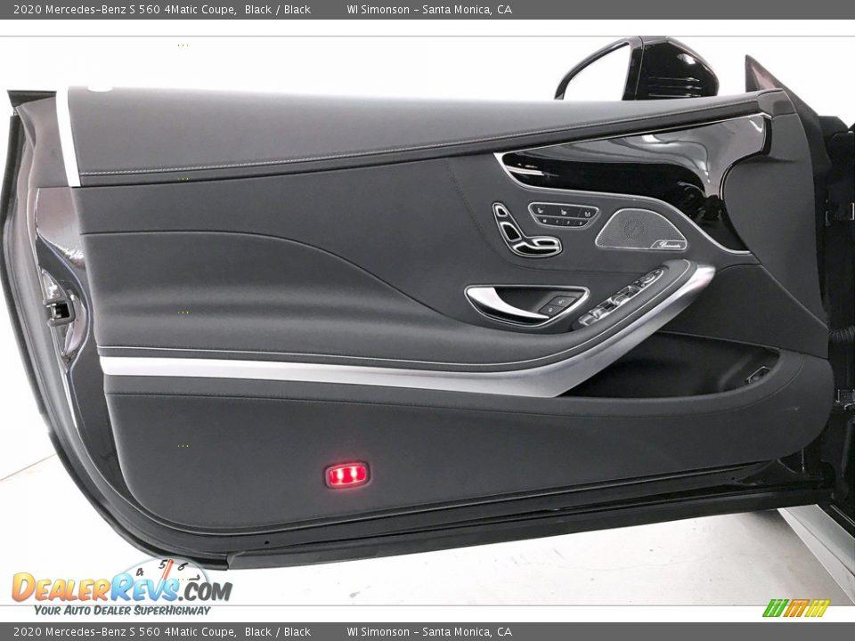 Door Panel of 2020 Mercedes-Benz S 560 4Matic Coupe Photo #25