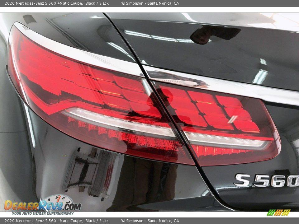 2020 Mercedes-Benz S 560 4Matic Coupe Black / Black Photo #26