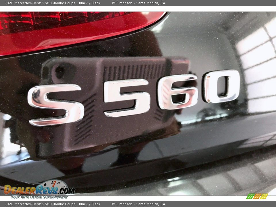 2020 Mercedes-Benz S 560 4Matic Coupe Black / Black Photo #27