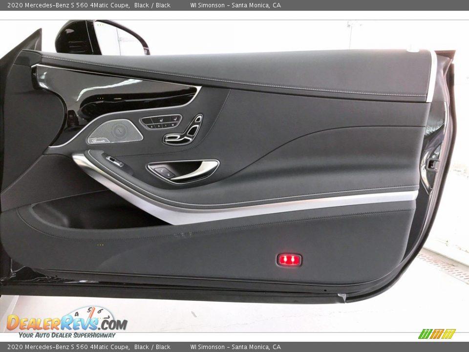 Door Panel of 2020 Mercedes-Benz S 560 4Matic Coupe Photo #30
