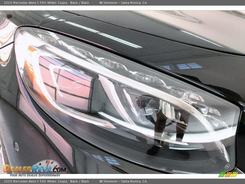 2020 Mercedes-Benz S 560 4Matic Coupe Black / Black Photo #32