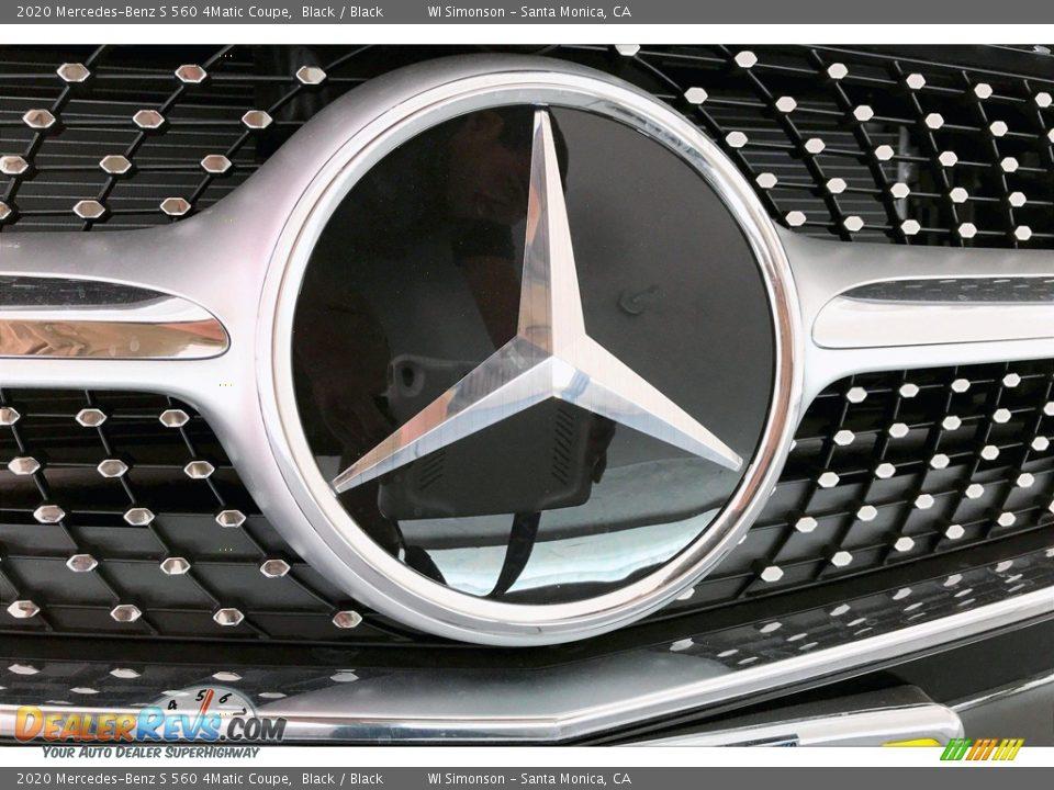 2020 Mercedes-Benz S 560 4Matic Coupe Black / Black Photo #33