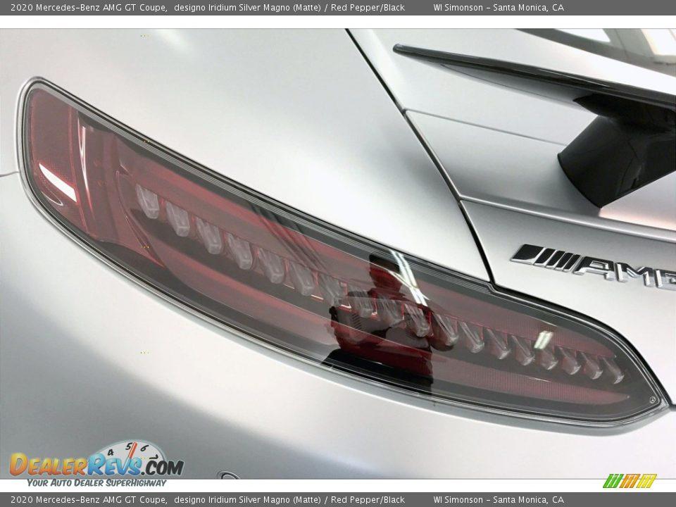 2020 Mercedes-Benz AMG GT Coupe designo Iridium Silver Magno (Matte) / Red Pepper/Black Photo #24