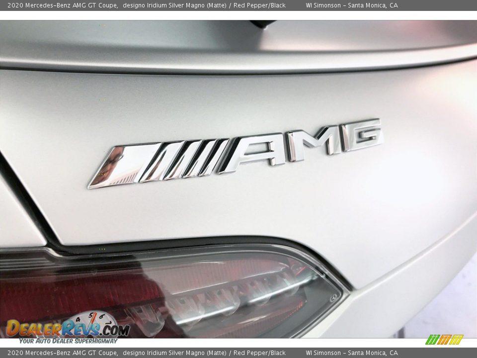 2020 Mercedes-Benz AMG GT Coupe designo Iridium Silver Magno (Matte) / Red Pepper/Black Photo #25