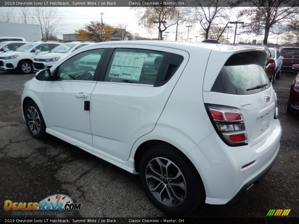Summit White 2019 Chevrolet Sonic LT Hatchback Photo #5