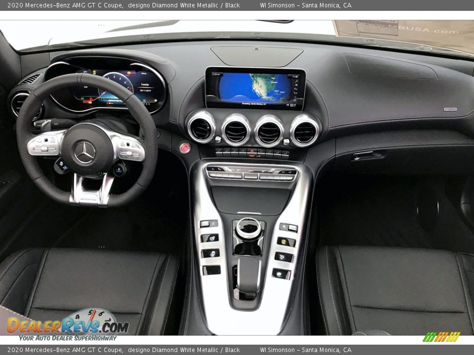 Dashboard of 2020 Mercedes-Benz AMG GT C Coupe Photo #15