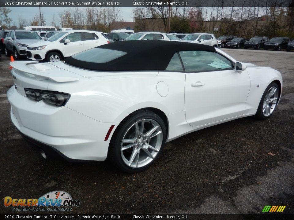 2020 Chevrolet Camaro LT Convertible Summit White / Jet Black Photo #4
