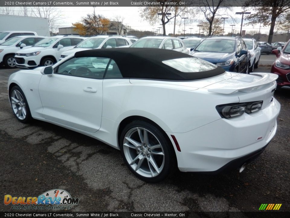 2020 Chevrolet Camaro LT Convertible Summit White / Jet Black Photo #5