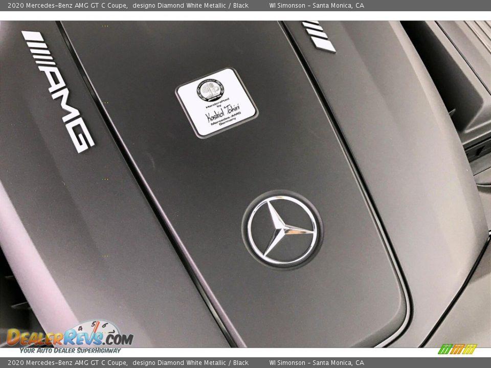 2020 Mercedes-Benz AMG GT C Coupe designo Diamond White Metallic / Black Photo #28
