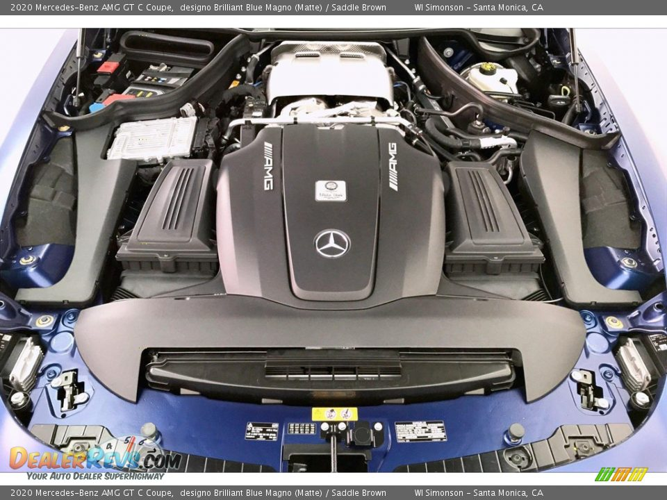 2020 Mercedes-Benz AMG GT C Coupe 4.0 Liter Twin-Turbocharged DOHC 32-Valve VVT V8 Engine Photo #9
